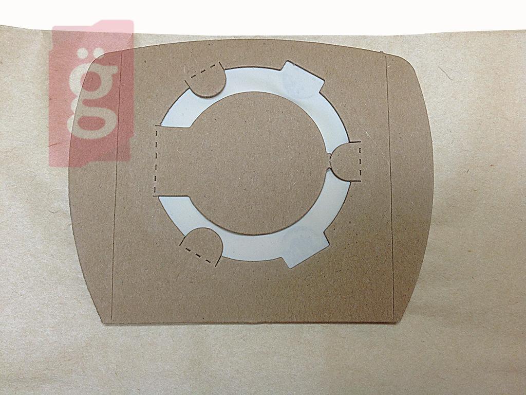 Kép a(z) IZ-UNI30F Univerzális takarítógép papír porzsák (5db/csomag) Ø52-70mm (Fekvő) nevű termékről