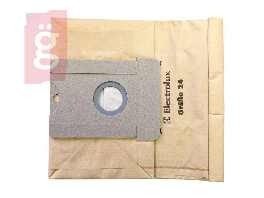 Kép a(z) IZ-A124/125GY AEG GR24 stb. Gyári papír porzsák (5db+2filter/csomag) nevű termékről