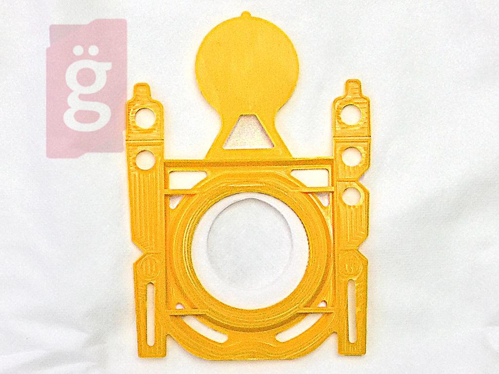 Kép a(z) IZ-K21S Invest KARCHER VC6100 / VC6200 / VC6300 Kompatibilis mikroszálas porzsák (5db/csomag)  nevű termékről