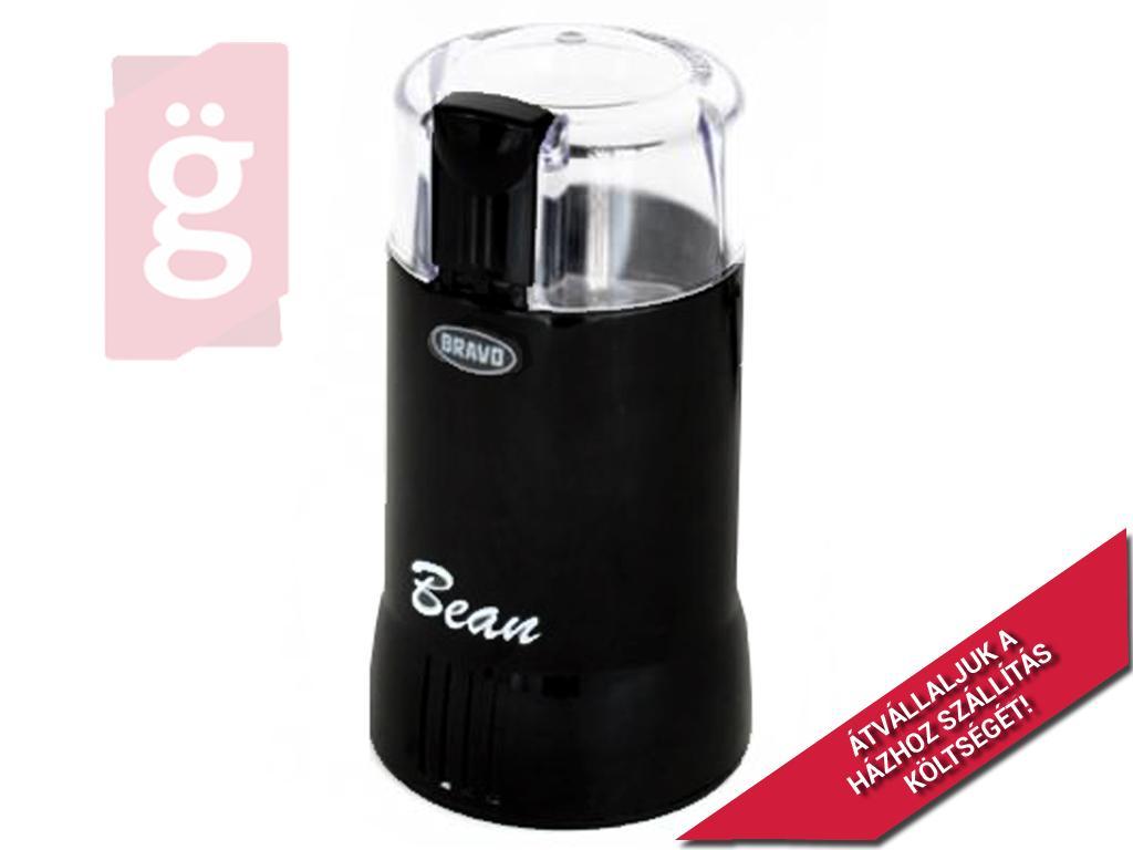 Kép a(z) BRAVO B-4307 BEAN Kávédaráló fekete nevű termékről