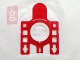 Kép a(z) IZ-M5/M6S.1F-PREMIUM MIELE F/J/M mikroszálas porzsák (5db+1filter/csomag) 5 rétegű nevű termékről