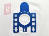 Kép a(z) IZ-M1/M4S.1F-PREMIUM MIELE G/N mikroszálas porzsák (5db+1filter/csomag) 5 rétegű nevű termékről