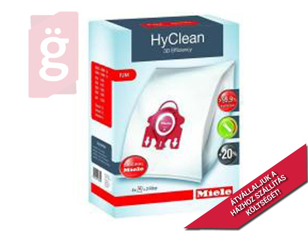 Kép a(z) IZ-M5/M6GYS MIELE HyClean 3D Efficiency F/J/M Gyári mikroszálas porzsák (4db+2filter/csomag)  nevű termékről