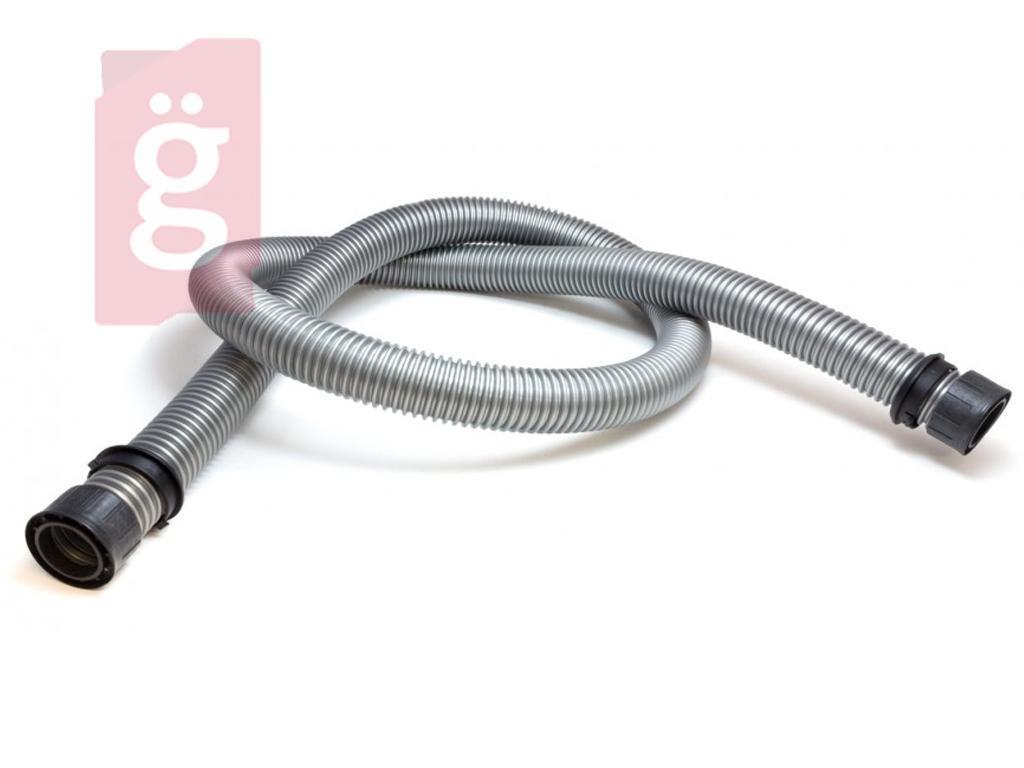 Kép a(z) Porszívó Gégecső Univerzális 1.8 méter 32mm ezüst (szerelt csatlakozás+pattintó gyűrű) nevű termékről