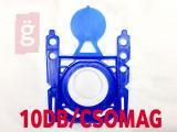 Kép a(z) IZ-S11SP.10 Invest Bosch / Siemens G stb. mikroszálas porzsák (10db/csomag) nevű termékről