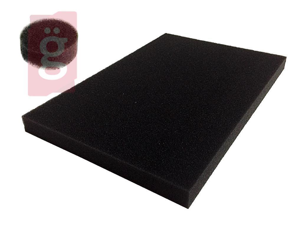 Kép a(z) Univerzális Porszívó Szivacsszűrő 155x225mm vastagság:15mm SŰRŰ (Ollóval méretre szabható!) nevű termékről