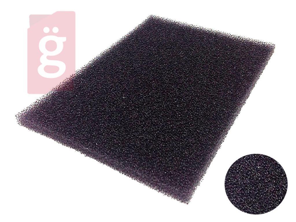 Kép a(z) Univerzális Porszívó Szivacsszűrő 155x225mm vastagság:10mm KÖZEPESEN SŰRŰ (Ollóval méretre szabható!) nevű termékről
