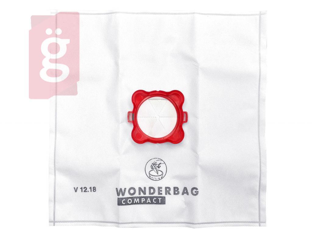 Kép a(z) IZ-R14/3GYS Rowenta Wonderbag Compact (3L) Gyári mikroszálas porzsák ELŐLAPPAL (Adapterrel) (5db+1előlap/csomag) WB305140 nevű termékről