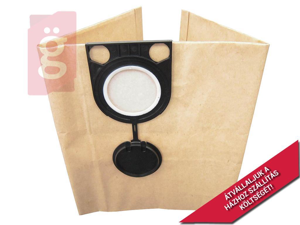 Kép a(z) IZ-MO1P METABO AS 20L / STARMIX GS 1020P Kompatibilis papír porzsák (5db/csomag) nevű termékről