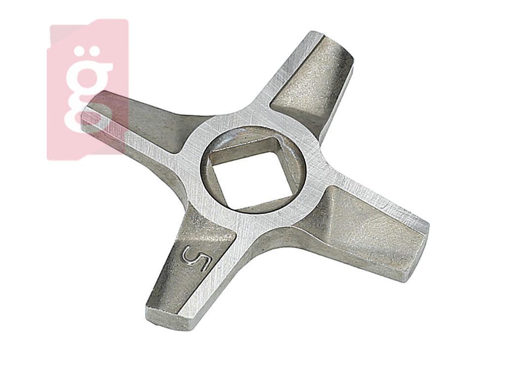 Kép a(z) Zelmer 86.1009 Húsdaráló Kés 5  kétoldalas örlés 9mmx9mm nevű termékről