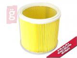 Kép a(z) Porszívó IPARI Univerzális Hepa Szűrő / Motorvédő Szűrő hengeres Bosch 12-50 RF (Nem mosható!) Gyárit tökéletesen helyettesítő termék! nevű termékről