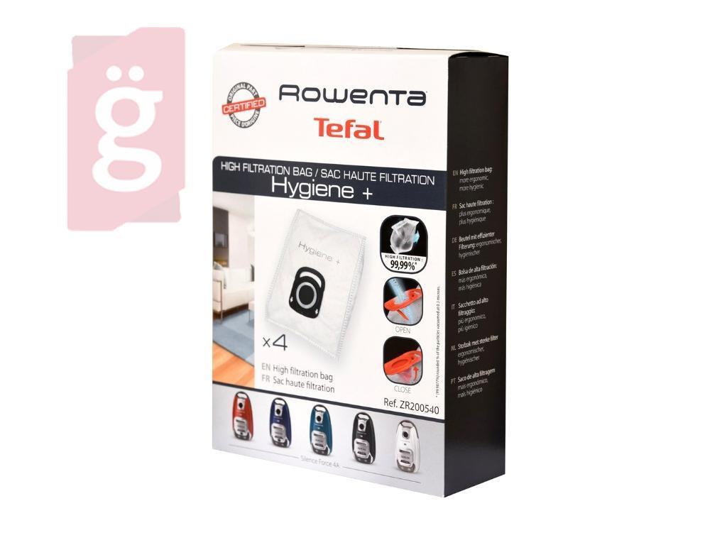 Kép a(z) IZ-R16GY54S Rowenta Hygiene+ Gyári mikroszálas porzsák (4db/csomag) ZR200540 nevű termékről