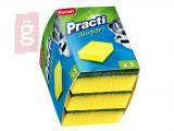 Kép a(z) Paclan Practi Mosogatószivacs Dörzsivel 3db/csomag nevű termékről
