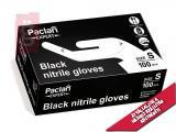 Kép a(z) Paclan Expert Fekete Nitril Gumikesztyű - S-es méret 100db/doboz (Latex és púdermentes.) nevű termékről
