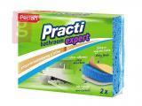 Kép a(z) Paclan Practi Bathroom Expert Szivacs 2db/csomag (Fürdőszoba tisztítására ajánlott.) nevű termékről
