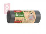Kép a(z) Paclan For Nature Multi Top Szemeteszsák 35L (30db/tekercs) 16my nevű termékről