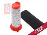 Kép a(z) Porszívó Kompatibilis Motorvédő Szűrő Készlet (Microfilter+Szivacsszűrő) BOSCH BCH6Z00... / BBH51830/01 (00754176+00754175) MOSHATÓ nevű termékről
