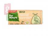 Kép a(z) Paclan For Nature Biológiailag Lebomló Szemeteszsák 12L (15db/tekercs) 14my nevű termékről