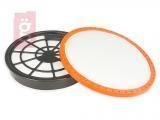 Kép a(z) Porszívó Hepa Filter / Szűrő készlet Dirt Devil DD2651 (Ø149/129/138mm)  2620002 (2620001) nevű termékről