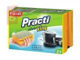 Kép a(z) Paclan Practi Silver King Mosogatószivacs 2db/csomag nevű termékről