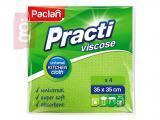 Kép a(z) Paclan Practi Viszkóz Univerzális Törlőkendőkendő 35cmx35cm 4db/csomag nevű termékről