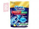 Kép a(z) Glanz Meister Mosogatógép Gélkapszula All in One Citromos (45db/csomag) nevű termékről