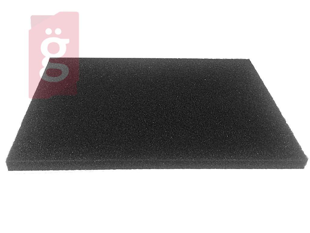 Kép a(z) Univerzális Porszívó Szivacsszűrő 155x225mm vastagság:10mm SŰRŰ (Ollóval méretre szabható!) nevű termékről
