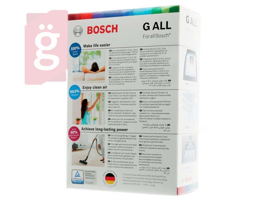 Kép a(z) IZ-S11GYS Bosch / Siemens G stb. Gyári mikroszálas porzsák (4db/csomag) 17003048 / (17000940 helyett) nevű termékről