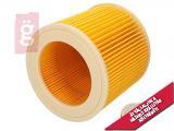 Kép a(z) Porszívó Hepa Filter / Motorvédő Szűrő hengeres KARCHER A2004 stb. 6.414-552.0 Gyári nevű termékről